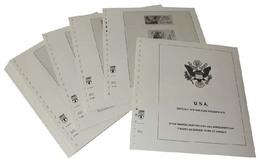 Lindner-T Vordruckblätter T512R/93 USA Dienstmarken, Markenheftchen Und Automaten-Folienblätter- Jahrgang 1993 Bis 200 - Vordruckblätter