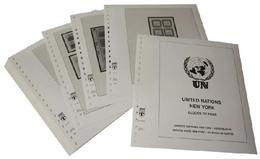 Lindner-T Nachtrag Vordruckblätter Vereinte Nationen WIEN Markenheftchen 2019 - Vordruckblätter