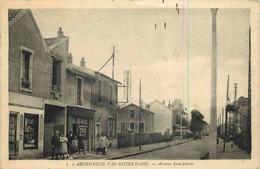 VAL D'OISE  ARGENTEUIL  Val  Notre Dame  Avenue Jean Jaures - Argenteuil