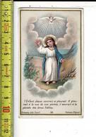 KL 3616 - L ENFANT JESUS SOURIAIT  ET PLEURAIT - Images Religieuses