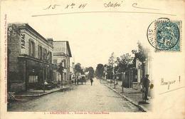 VAL D'OISE  ARGENTEUIL  Entrée Du Val Notre Dame - Argenteuil