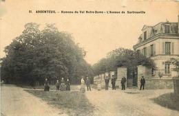 VAL D'OISE  ARGENTEUIL  Hameau Du Val Notre Dame - Argenteuil