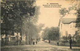 VAL D'OISE  ARGENTEUIL  Hameau Du Val Notre Dame Avenue De Sartrouville - Argenteuil