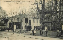 """VAL D'OISE  ARGENTEUIL  Avenue Jean Jaures  """" Le Lapin Sauté """" - Argenteuil"""