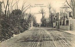VAL D'OISE  ARGENTEUIL  Les Bois Champioux - Argenteuil