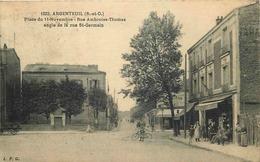VAL D'OISE  ARGENTEUIL  Place Du 11 Novembre Rue Ambroise Thomas Et Angle De La Rue De Saint Germain - Argenteuil