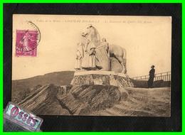 Vallée De La Meuse CHATEAU REGNAULT.Monument Des Quatre Fils Aymon(recto Verso) - France