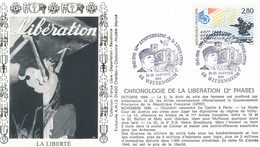 FRANCE - ENVELOPPE 50EME ANNIVERSAIRE DE LA LIBERATION 28-29 JANVIER 1995 WITTENHEIM - WW2