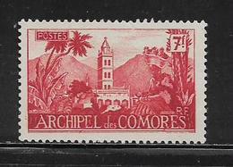 COMORES  ( FRCOM - 40 ) 1950  N° YVERT ET TELLIER  N° 7  N* - Unused Stamps