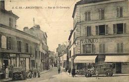 VAL D'OISE  ARGENTEUIL Rue Saint Germain - Argenteuil
