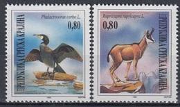 War Period SRPSKA KRAJINA 42-43,unused - Croatia
