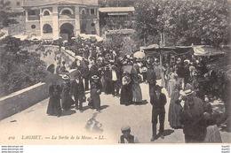 LAGHET - La Sortie De La Messe - Très Bon état - Autres Communes