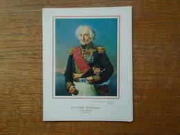 """Carte De Voeux Des Amis Des Musées De La Marine """""""" Le Comte Willaumez , Vice Amiral ( 1761 - 1845 ) """""""" - France"""