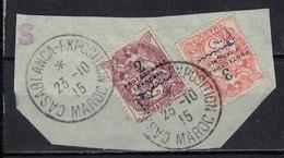 MAROC          N°  YVERT   38/39  OBLITERE       ( Ob   2/52 ) - Used Stamps