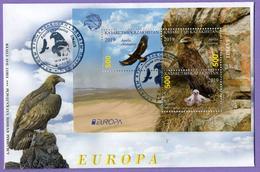 Kazakhstan 2019.  FDC. Europe. Europa - CEPT. National Birds. Golden Eagle. - Kasachstan