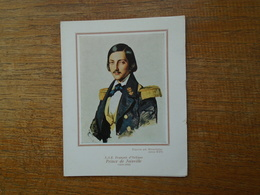"""Carte De Voeux Des Amis Des Musées De La Marine """""""" S.a.r. François D'orléans , Prince De Joinville ( 1818 - 1900 ) """""""" - France"""