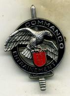 Insigne Commando Du 26é RI___delsart - Armée De Terre