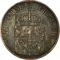 Monnaie, Etats Allemands, PRUSSIA, Wilhelm I, 4 Pfennig, 1862, Berlin, TTB - Small Coins & Other Subdivisions