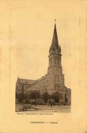 VAL D'OISE  ARGENTEUIL  L'église  (edition L'intermediaire ) - Argenteuil