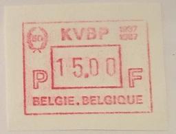 BELGIUM : 15 Vignets  KVBP 1987 1 To 15 BFR  MNH - Vignettes D'affranchissement