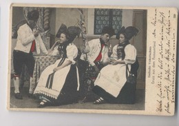 Badische Volkstrachten - Gruss Aus Dem Hanauerland  - 1911 -  Colorisée - Animée - Kehl