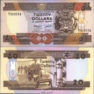 Salomoninseln Pick-Nr: 16a Bankfrisch 1986 20 Dollars - Solomonen