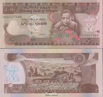 Äthiopien Pick-Nr: 48g Bankfrisch 2017 10 Birr - Aethiopien