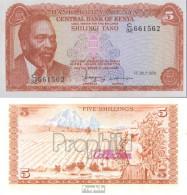 Kenia Pick-Nr: 15 Bankfrisch 1978 5 Shillings - Kenia