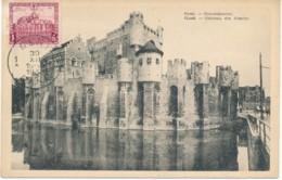 Maxi Kaart Gravenkasteel Gent – 30 XII 1930 - Maximumkaarten