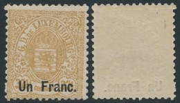 Luxembourg -    Prifix 36 - Dentelure 13 -   MNH - 1859-1880 Wapenschild