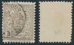 Luxembourg -    Prifix 44 - Dentelure 12½ X 12 - 1859-1880 Wapenschild