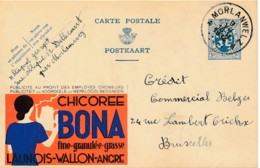 Publibel 58 – 1934 – Chicorée Bona - Stamped Stationery