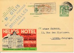 Publibel 322 – 1939 – Hotel Helios, Albert Plage - Knokke - Publibels