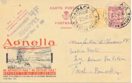 Publibel 752 – 1949 - Laines Agnella – Berger Ecossais Avec Chien - Kilt - Stamped Stationery