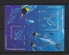 TAAF: Nouv. 2019 BF Manchots Royaux ** - Terres Australes Et Antarctiques Françaises (TAAF)