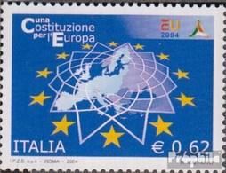 Italien 2999 (kompl.Ausg.) Postfrisch 2004 EU-Verfassung - 6. 1946-.. Repubblica