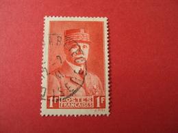 """1940-41- Oblitéré N°  472    -    PETAIN, """"état Français""""   """"  1f Rouge     """"    Net  2     -    Photo    1 - 1941-42 Pétain"""