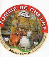Jan20  10065   étiquette Tomme De Chèvre  79  Chef Boutonne - Cheese
