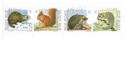 1992  Postzegelboekje.  Natuur.  Kleine Zoogdieren.  Petits Mamifères. - België