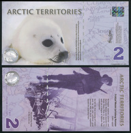 Arctic Territories 2 Dollars. 2010 Polymer Unc. Banknote Cat# P.NL - Bankbiljetten