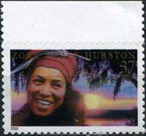 United States 2003. Novelist Zora Neale Hurston (MNH OG) Stamp - United States