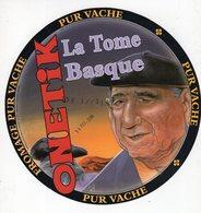 Jan20  10059   étiquette Fromage La Tome Basque - Cheese
