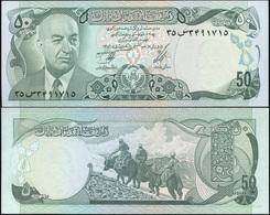 Afghanistan 50 Afganis. ١٣۵٦ (1977) Unc. Banknote Cat# P.49c - Afghanistan