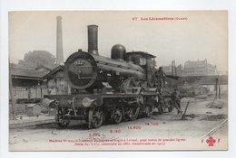 - CPA LES LOCOMOTIVES (Ouest) - Machine N° 622, Pour Trains De Grandes Lignes... - Trains