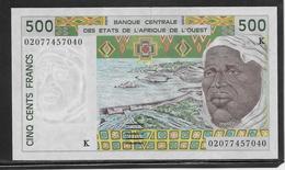 Sénégal - 500 Francs - Pick N°710Km - SUP - Sénégal