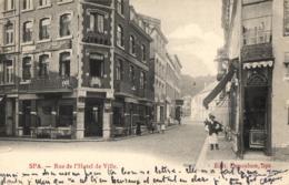 BELGIQUE - LIEGE - SPA - Rue De L'Hôtel De Ville. - Spa