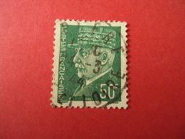 """1941-42- Oblitéré N°  508    -    PETAIN,     """" Type Hourriez""""    """" 50c Vert    """"         Net     1 - 1941-42 Pétain"""