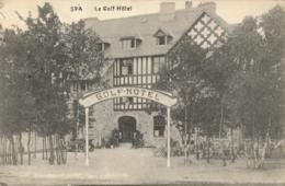 BELGIQUE - LIEGE - SPA - Le Golf-Hôtel. - Spa