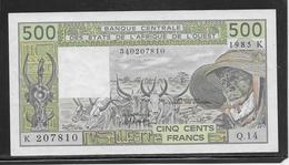 Sénégal - 500 Francs - Pick N°710Kh - SPL - Sénégal