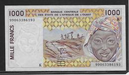 Sénégal - 1000 Francs - Pick N°711Ki - SUP - Sénégal